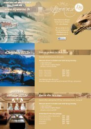 Winter 2013 - Hotel Alpenrose - Wengen
