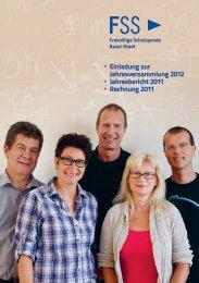 • Einladung zur Jahresversammlung 2012 • Jahresbericht 2011 ...