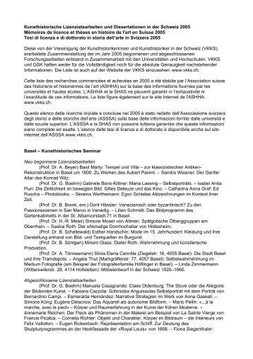Vereinigung der Kunsthistorikerinnen und Kunsthistoriker
