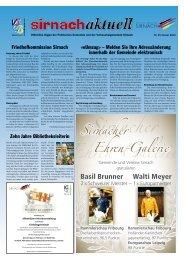 Sirnachaktuell Januar 13 [PDF, 2.00 MB] - Gemeinde Sirnach