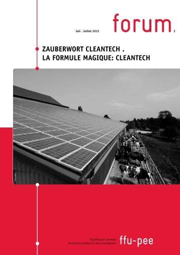 Nummer 2/2012 - FachFrauen Umwelt