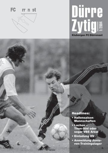 Headlines: - Mannschaften