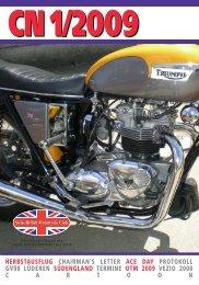 CN 1/2009 - Swiss British Motorcycle Club