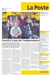 OctobreLe lien est ouvert dans une nouvelle - La Poste Suisse