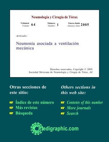 Neumonía asociada a ventilación mecánica - edigraphic.com