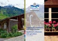 Traditionelle Siedlungen und Landwirtschaft Traditional settlements ...
