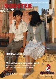 Ausgabe Frühling 2008 - NATURA GÜGGELI