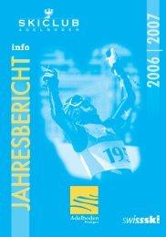 JAHRESBERICHT - Skiclub Adelboden