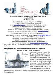 Gemeindeblatt Ausgabe 4 2012 - St. Lukas