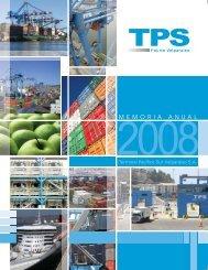 Memoria Anual TPS 2008
