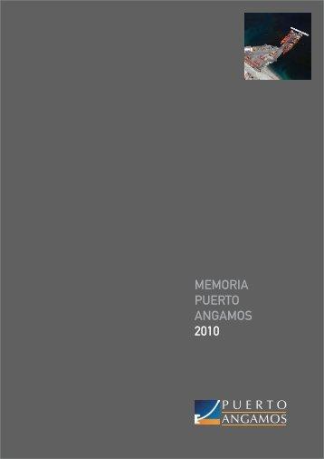 Memoria Anual 2010 - Puerto Angamos