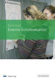 Konzept Externe Schulevaluation - argev