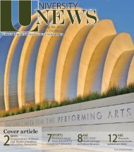 Issue #2, August 29, 2011 - The University News