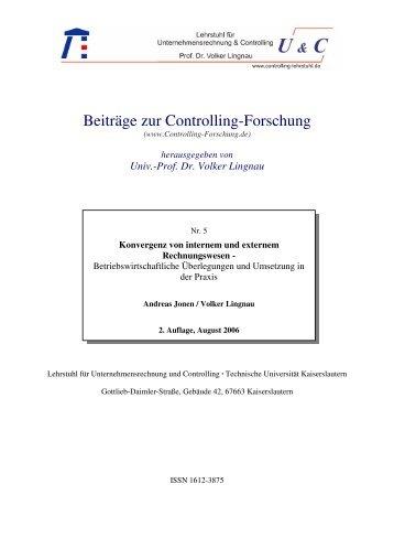 Volker Lingnau - Controller Institut