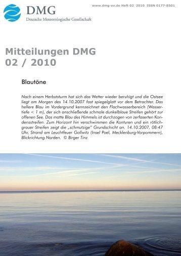 Heft 2/2010 - DMG