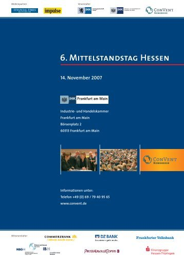 6. Mittelstandstag Hessen - Convent