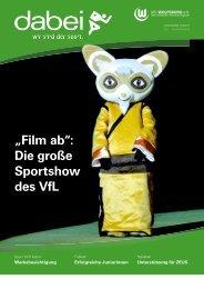 """""""Film ab"""": Die große Sportshow des VfL - Vfl-wob.de"""