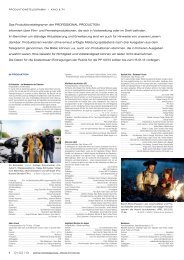 Produktionstelegramm aus PP 01-02/13 - Professional Production