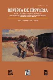 REVISTA DE HISTORIA - Revista Historia - Universidad de Costa Rica