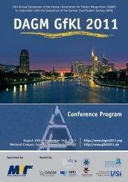 Conference Program - DAGM 2011