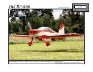 Roberto Oscar Buonocore, Mar del Plata Argentina - Van's Aircraft, Inc.
