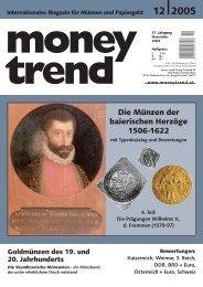 Die Münzen der baierischen Herzöge 1506-1622