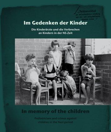 Buch (Auszug) - Im Gedenken der Kinder