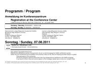 Programm / Program - Austrian Ludwig Wittgenstein Society