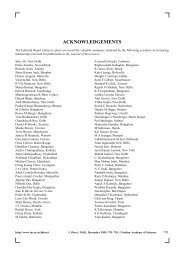 ACKNOWLEDGEMENTS - Indian Academy of Sciences