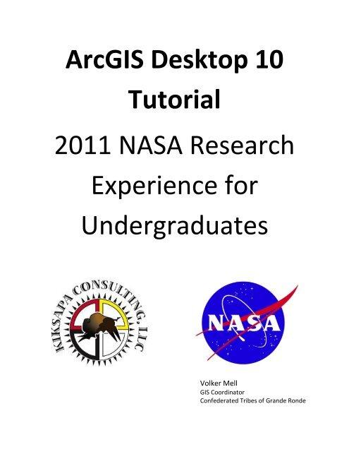 ArcGIS Desktop 10 Tutorial - Volker Mell GIS consulting