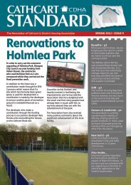 Issue 9 - Cathcart & District Housing Association
