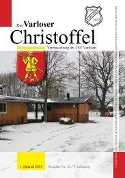 Vereinszeitung Nr. 22, 1. Quartal 2013 - Varloser Crosslauf