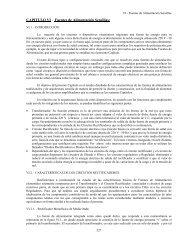 CAPITULO VI - Fuentes de Alimentación Sencillas: