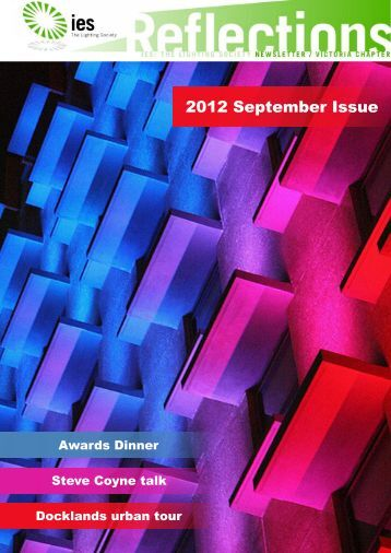 2012 September Issue - Illuminating Engineering Society of ...