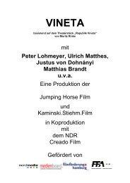 Pressemappe - Hachenburger Filmfest