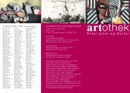 Flyer der Artothek - Lauenburgischen Kunstvereins