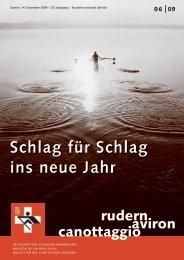 rudern-aviron-canottaggio 6/2009 (Dez. 09) - Schweizerischer ...