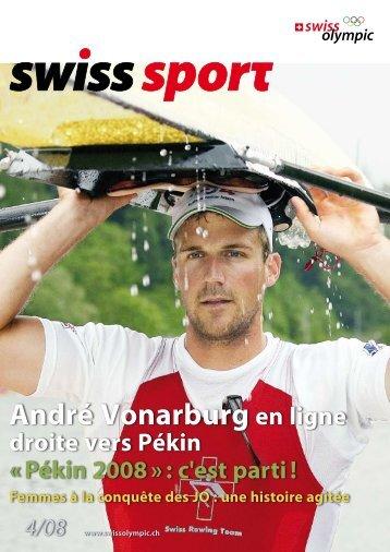André Vonarburg en ligne - Swiss Olympic
