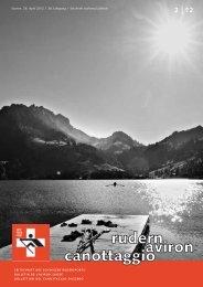 rudern-aviron-canottaggio 2/2012 - Schweizerischer Ruderverband