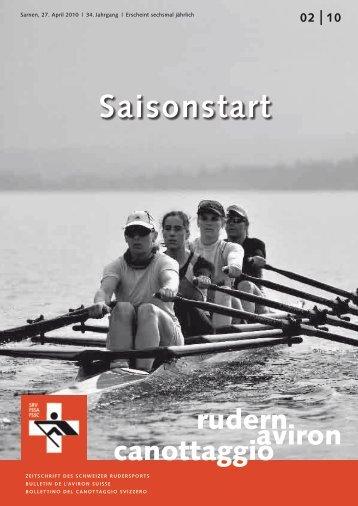 rudern-aviron-canottaggio 2/2010 (April 10) - Schweizerischer ...