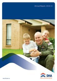 Annual Report. 2010-11 - Defence Housing Australia