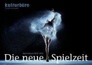 Abonnement 2012/2013 - Kulturbüro Friedrichshafen