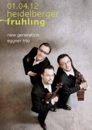 so 01. april 12   new generation   eggner trio - Heidelberger Frühling