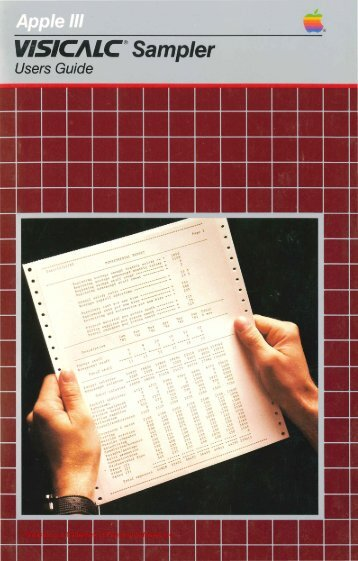 visicalc-iii-sampler-users-guide