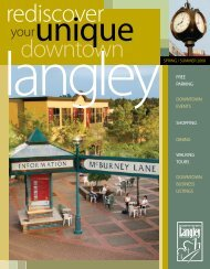Rediscover Downtown - Downtown Langley