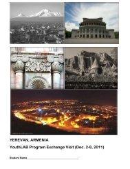 YEREVAN, ARMENIA YouthLAB Program Exchange Visit (Dec. 2-8 ...