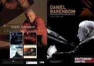 daniel barenboim on euroarts - Arietta