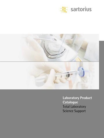 Laboratory Product Catalogue