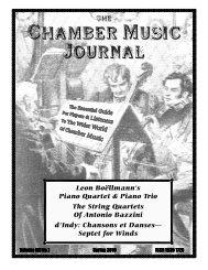 Chamber Music Journal - cobbettassociation.org