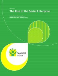 The Rise of the Social Enterprise